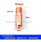 BÉP HÀN CỔNG M14X2.0X38-4.0