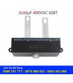 Tụ điện 2x16uF-400VDC DMJ-PS