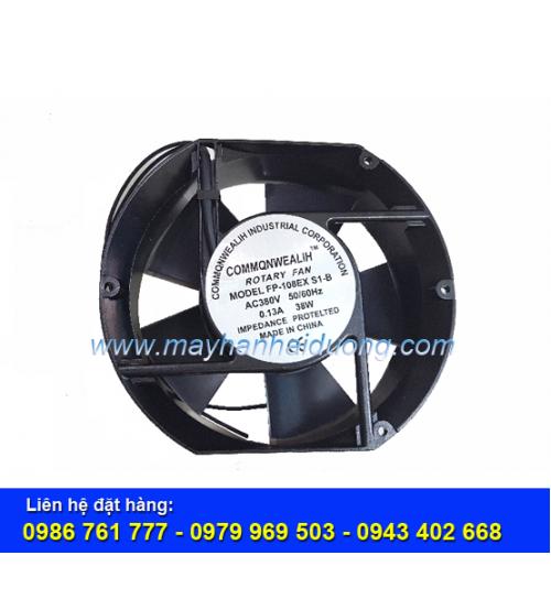 Quạt thông gió 380V 150x172MM