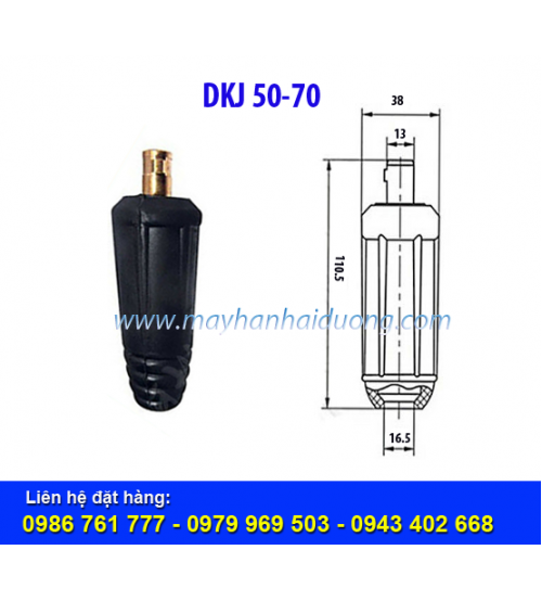 Giắc nối cáp hàn DKJ 50-70