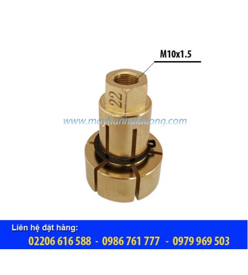 Đầu kẹp hàn bulon 22 (Ren M10x1.5)