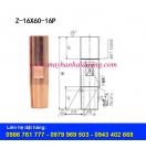 Điện cực hàn bấm D16x60-16