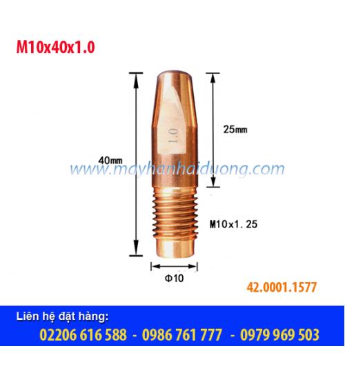 Bép hàn MIG M10x40x1.0