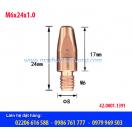 Bép hàn MIG M6x24x1.0