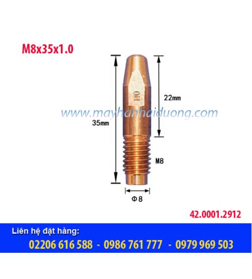 Bép hàn MIG M8x35x1.0