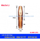 Bép hàn MIG M8x35x1.2