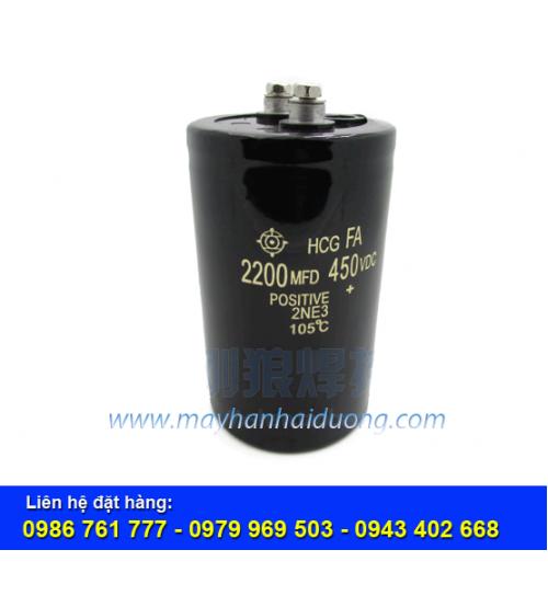 Tụ điện 2200MDF-450VDC