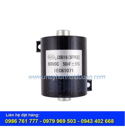 Tụ điện CBB16-800VDC-50uF