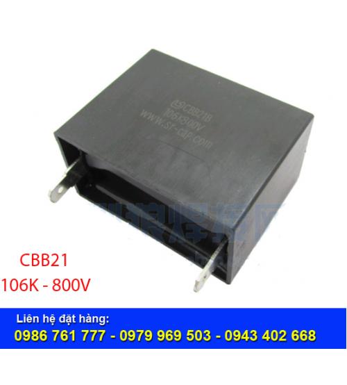 Tụ điện CBB21-106K-800V