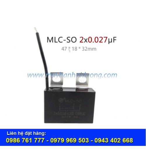 Tụ điện MLC-SO-2x0.027UF-1200V