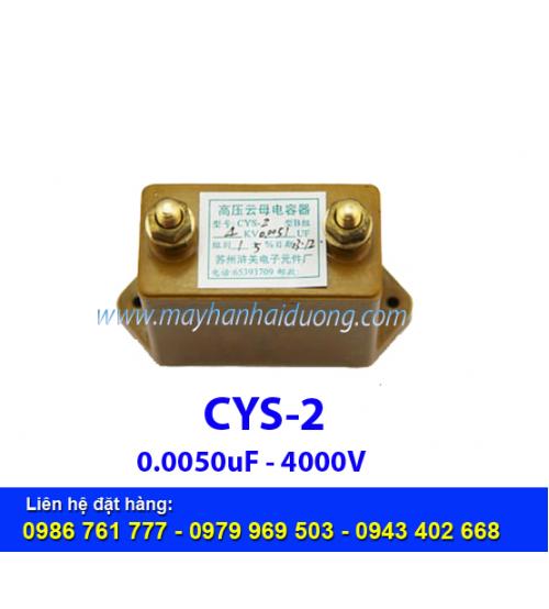 Tụ cao áp CYS-2 0.0051Mf 4000V