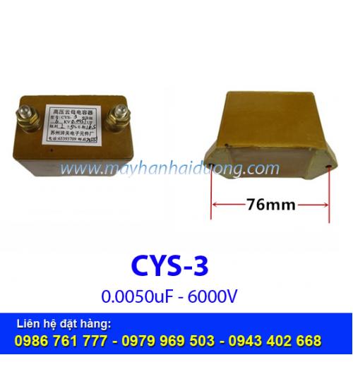 Tụ cao áp CYS-3 0.0051Mf 6000V