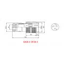 Giắc điều khiển 3 chân DF20-3